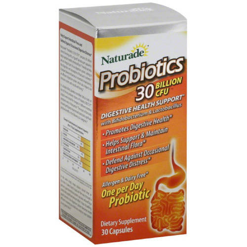 Naturade Probiotics 30 B CFU Capsules, 30 CT
