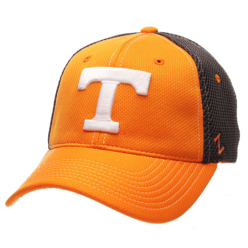 Men's Zephyr Tennessee Orange/Charcoal Tennessee Volunteers Rally Flex Hat