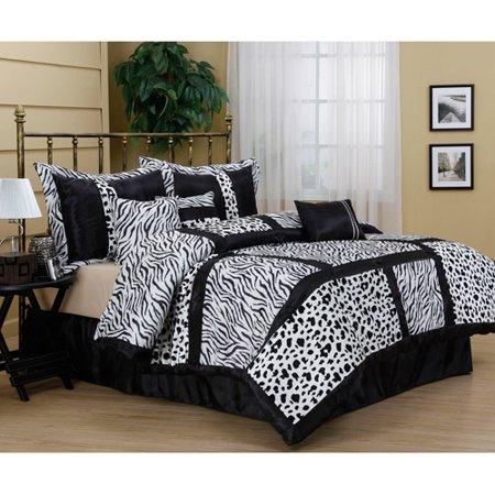 Nanshing Amazon 7 Piece Bedding Comforter Set Walmart Com