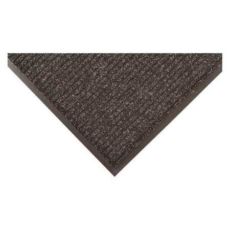 CONDOR 8XDR5 Carpeted Entrance Mat,Pepper,3ft. x 5ft.
