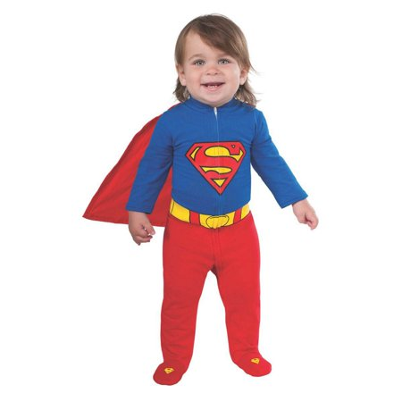 Superman Infant Romper Costume - Newborn Superhero Costumes