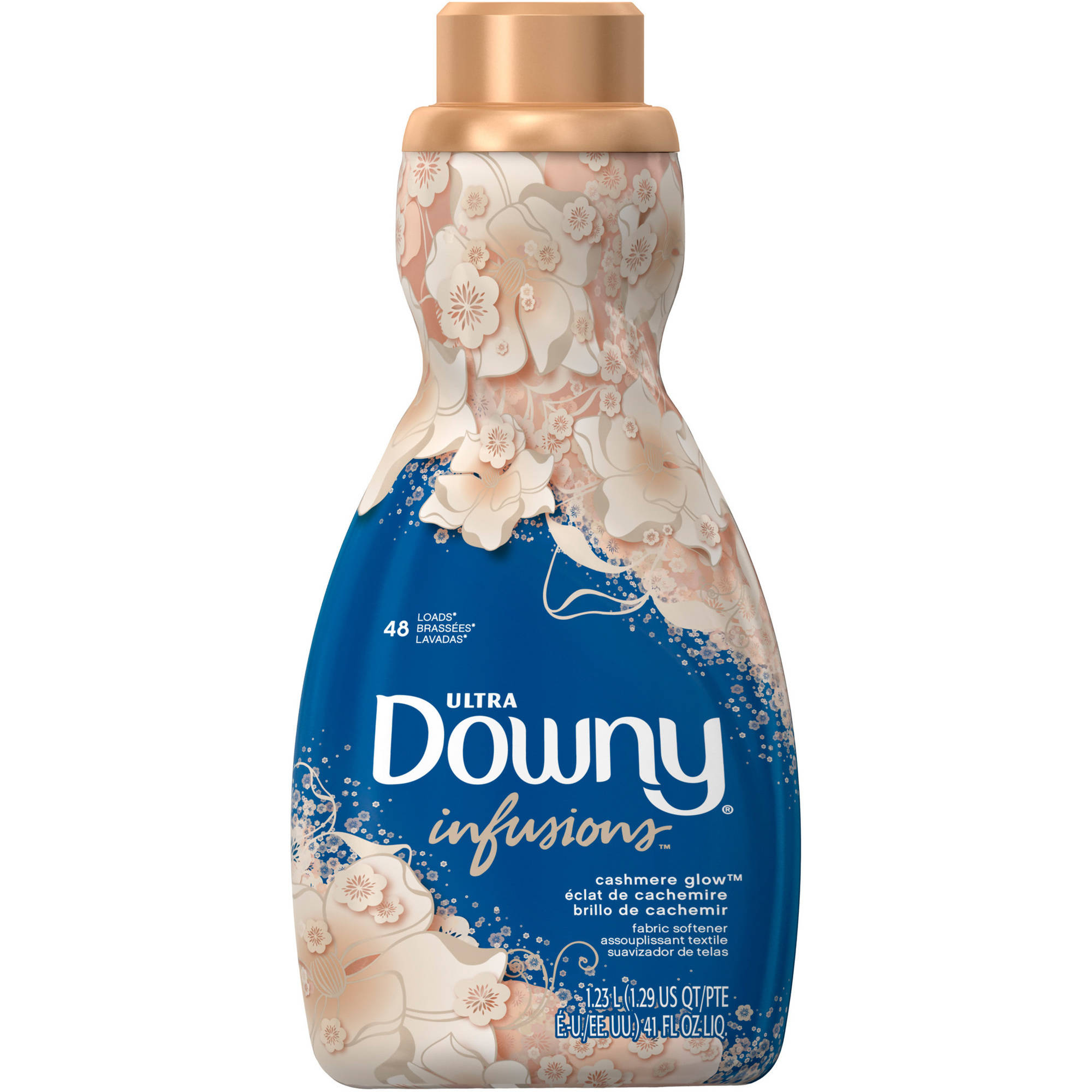 Ultra Downy Infusions Cashmere Glow Liquid Fabric Conditioner, 41 fl oz