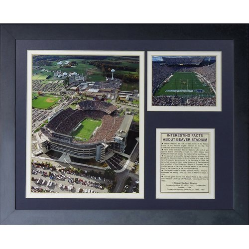 Legends Never Die Penn State Nittany Lions Beaver Stadium Framed Photographic Print