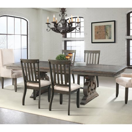 Picket House Stanford Scrolled Trestle Dining Table ()