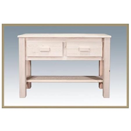 Homestead Collection_Table, Entry/Sofa_Ready To Finish - Montana woodworks - MWHCET