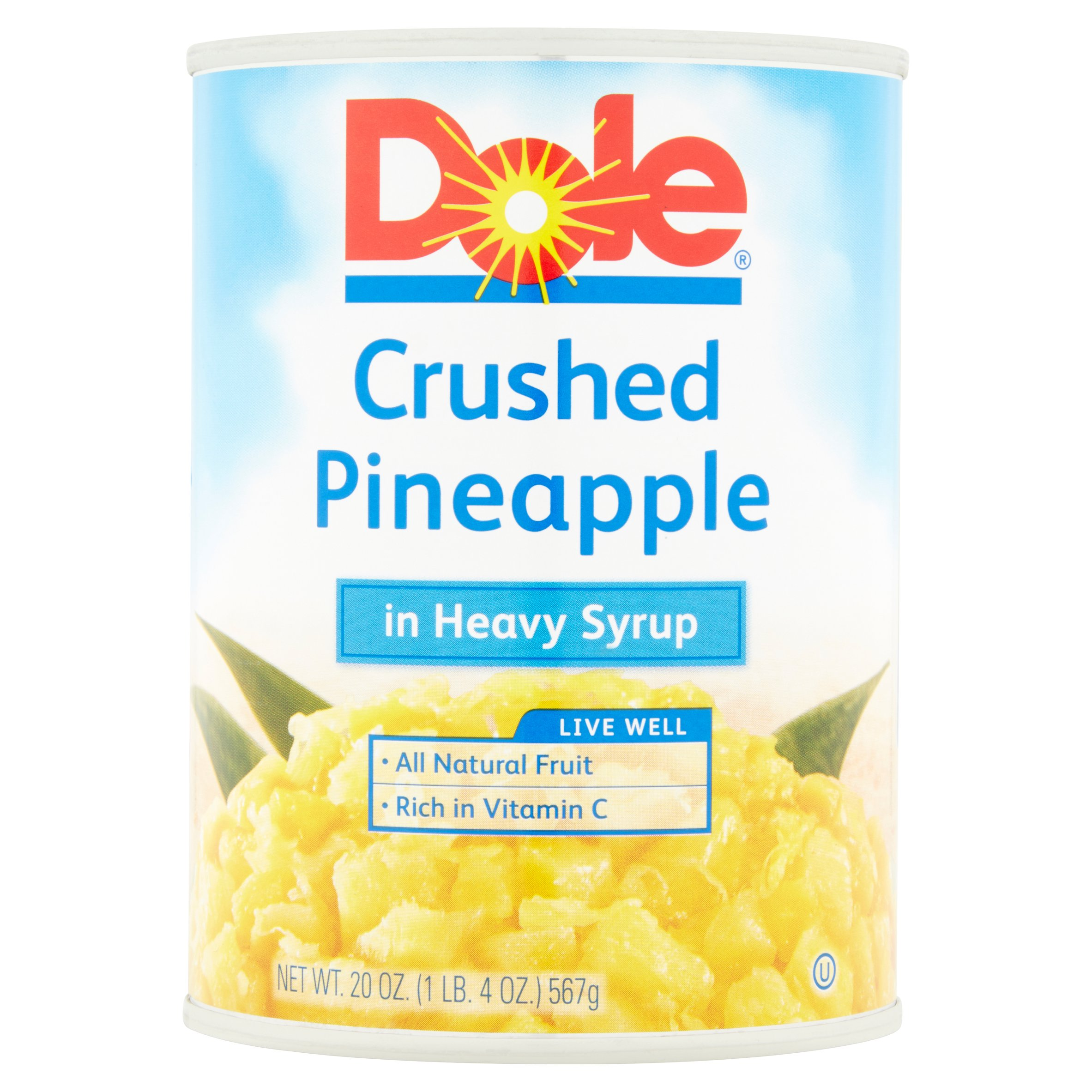 Dole? Crushed Pineapple in Heavy Syrup 20 oz. Can