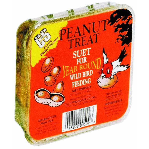 C&S Suet Peanut Treat