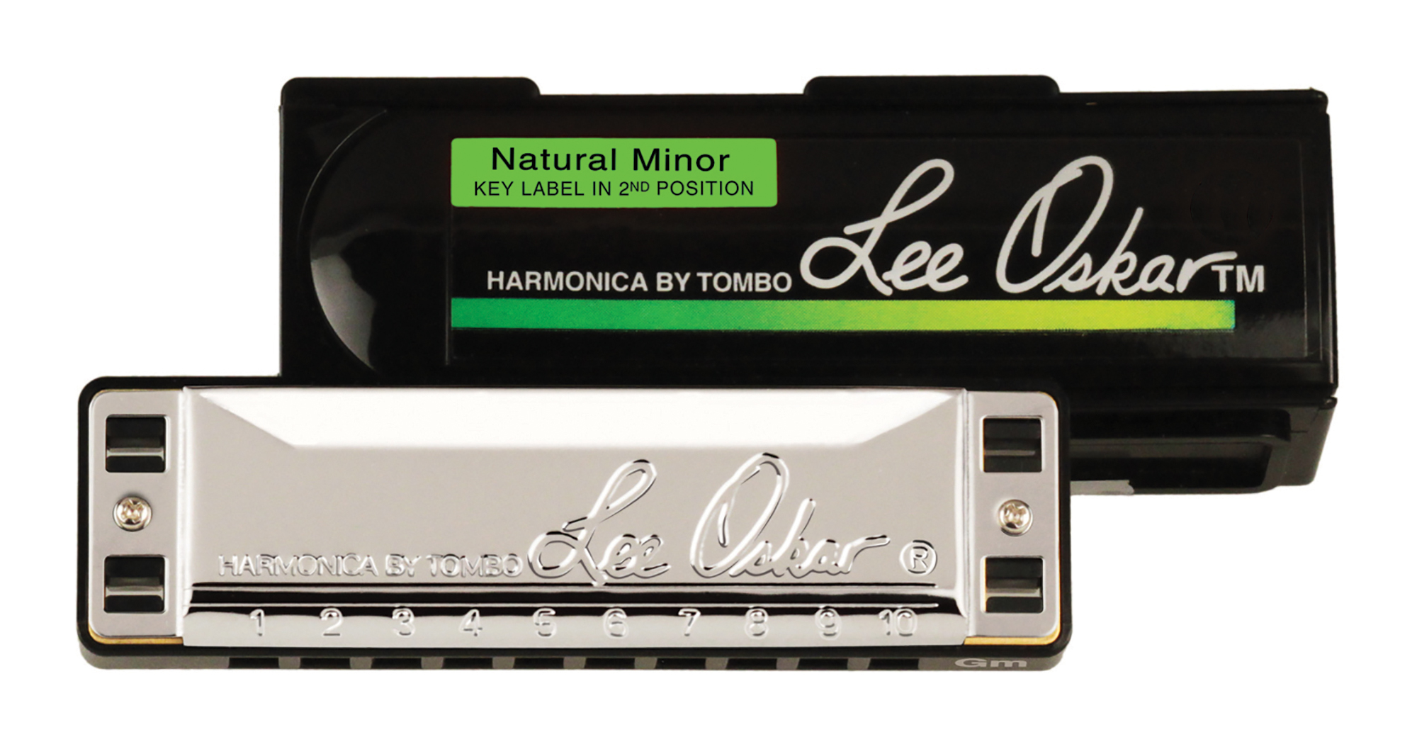 Lee Oskar Natural Minor Harmonica Key of B Flat by Lee Oskar Harmonicas
