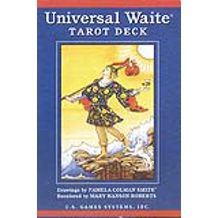 Party Games Accessories Halloween Séance Tarot Cards Universal Waite Tarot by Smith & Hanson-Roberts
