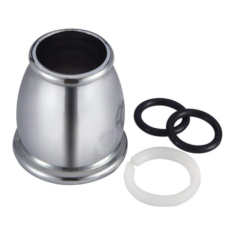 Bell Spout Nut and Rings Replacement Kit - Chrome