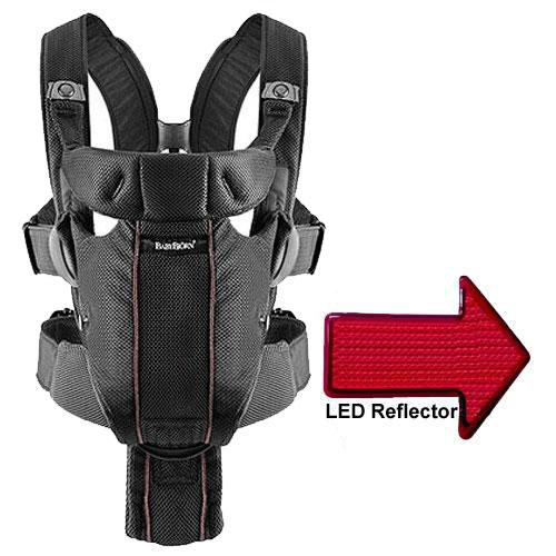Baby Bjorn Baby Carrier Miracle with LED Safety Reflector...