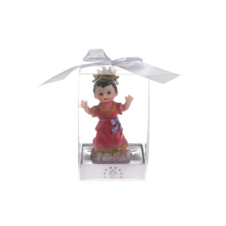 Mega Favors Keepsake Figurine 12 pcs Baby El Nino Divino Statue | Awesome Decorations or Party Favors | for Baptism, First Communion, Religious and Special - Pastel Baby Shower Niño