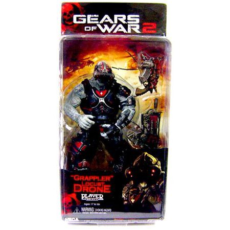 NECA Gears of War Series 3 Locust Drone Action Figure