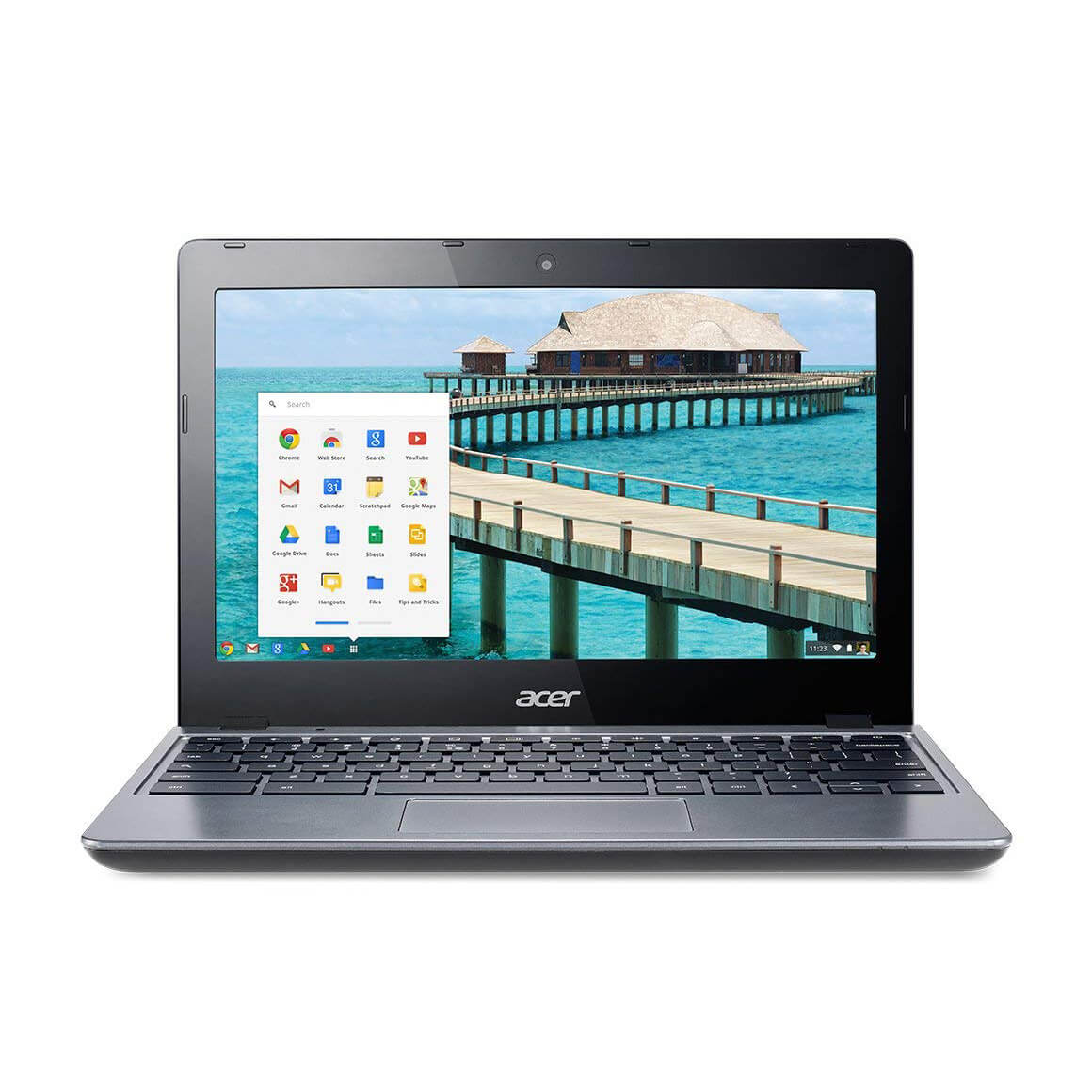 "Refurbished Acer C720-2103 11.6"" LED Chromebook Intel Celeron 1.4Ghz Dual Core 2GB 16GB SSD"