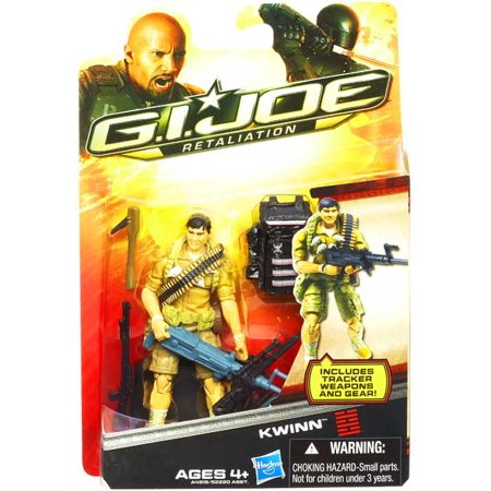 GI Joe Retaliation Kwinn Action Figure