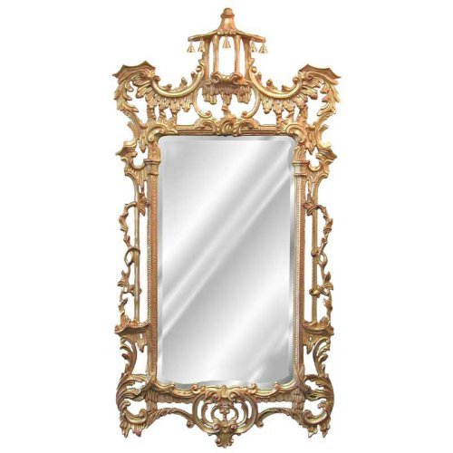 Hickory Manor House Campanello Arched Wall Mirror - 31W x 62H in.