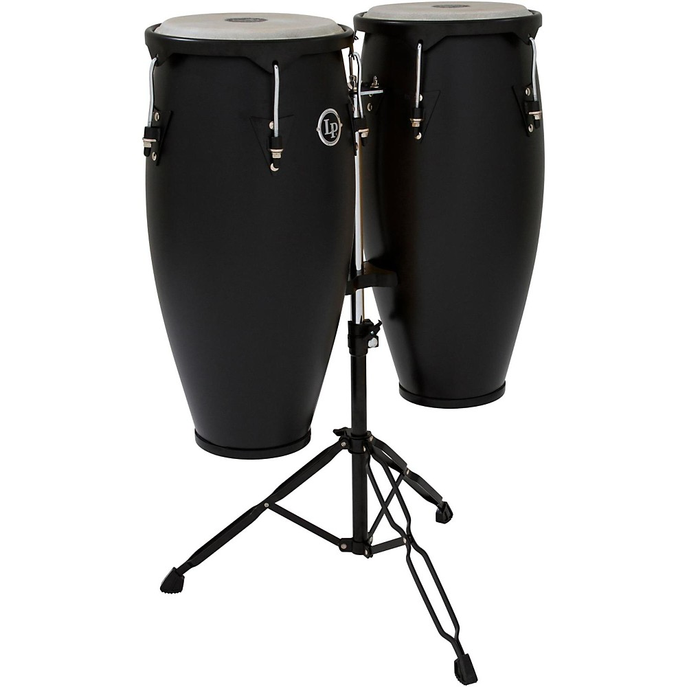 LP City Conga Set with Stand Black by LP