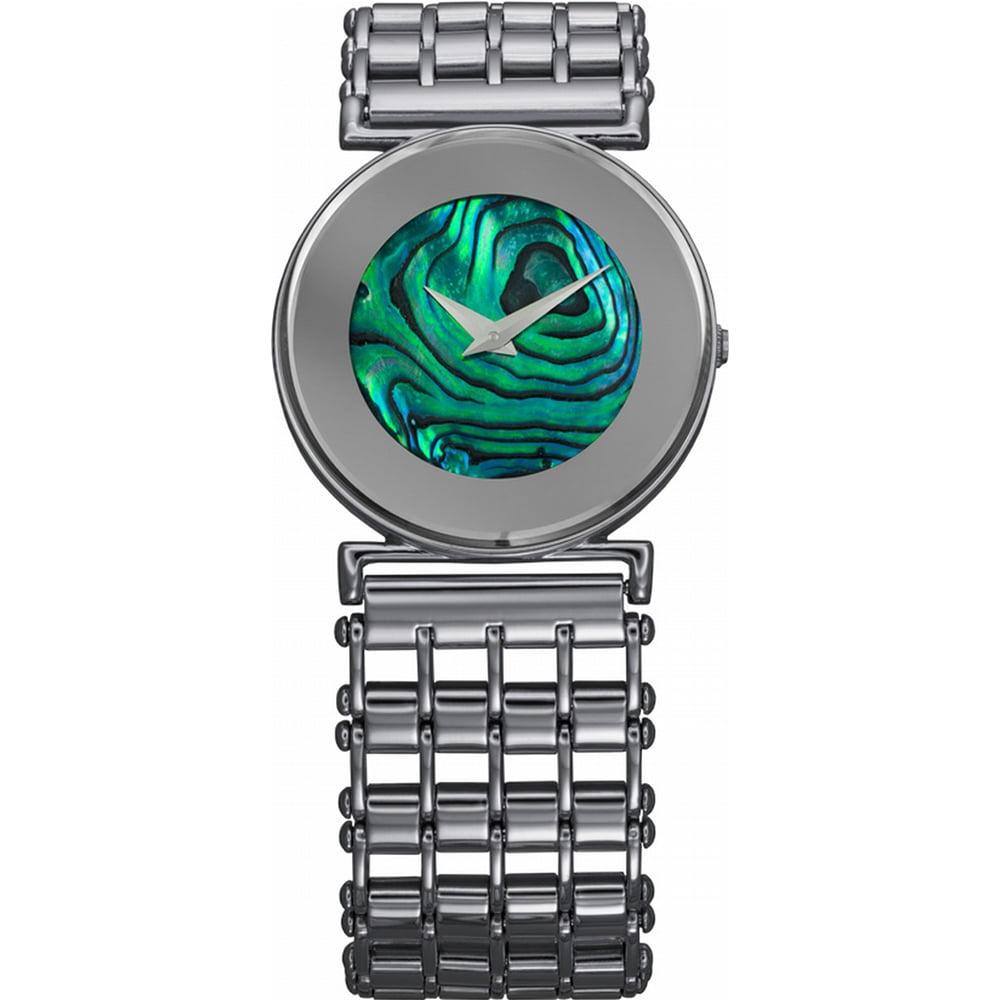 Jowissa Women's J3.033.M Elegance Green MOP Dial Stainles...