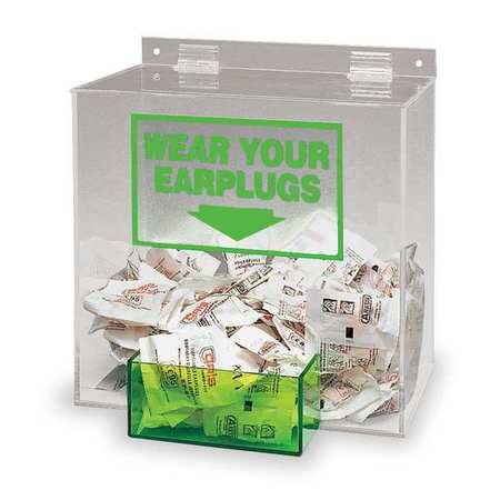 "BRADY Ear Plug Dispenser,13"" H x 12"" W x 8"" D PD439G"
