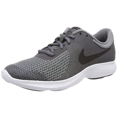 Nike Kids Revolution 4 (Big Kid) Boys School Shoes (5 M US Big Kid, Dark Grey/Black/Cool Grey)