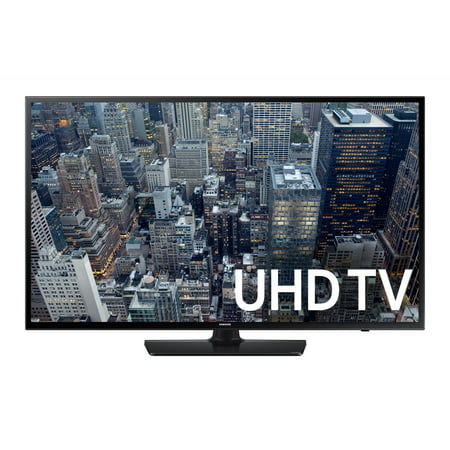 SAMSUNG 65″ 6400 Series – 4K Ultra HD Smart LED TV – 2160p, 120MR (Model#: UN65JU6400)
