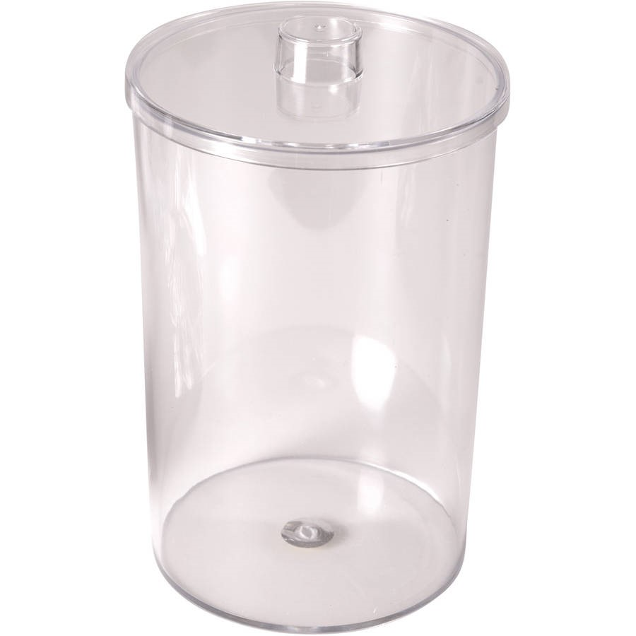 MABIS Stor-A-Lot Sundry Apothecary Jar without Imprints, Plastic, Clear