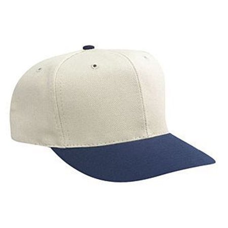 Otto Cap Washed Bull Denim Pro Style Caps - Hat / Cap for Summer, Sports, Picnic, Casual wear and Reunion etc