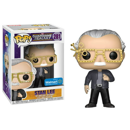 Funko Pop Marvel   Stan Lee With Futuristic Glasses