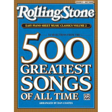 Rolling Stone Easy Piano Sheet Music Classics, Volume 2 : 34 Selections from the 500 Greatest Songs of All Time - Easy Piano Songs For Halloween