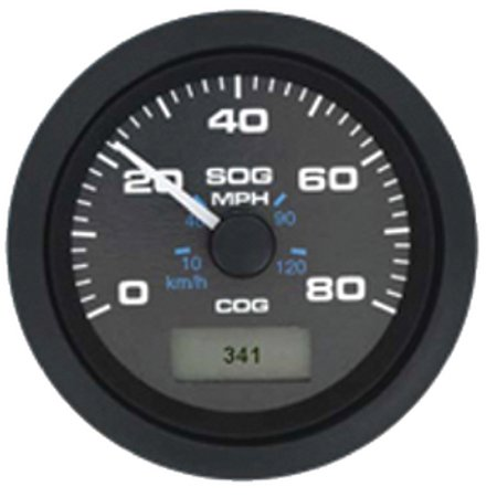 New Gps Speedometer sierra 781-627-080p Model Premier Pro - Black Domed 3