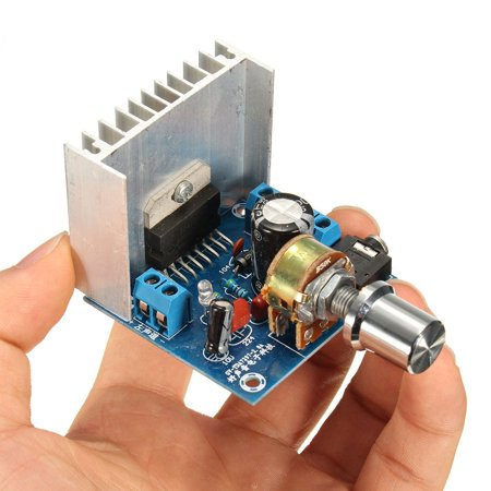 AC/DC 12V TDA7297 2x15W Digital Audio Amplifier DIY Kit Dual-Channel Module Mold Replacement - image 6 of 6