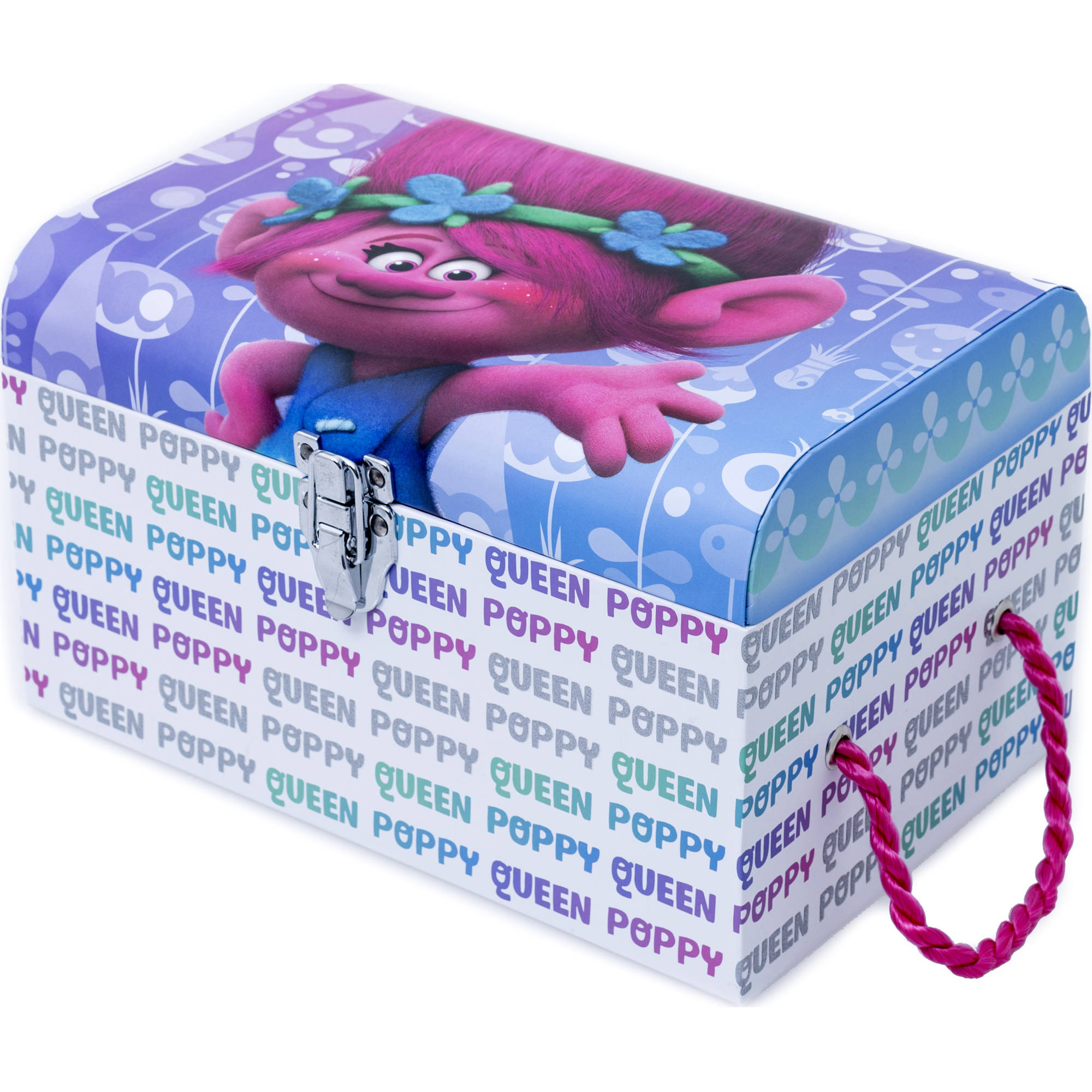 Trolls Small Storage Trunk, Multi-Color