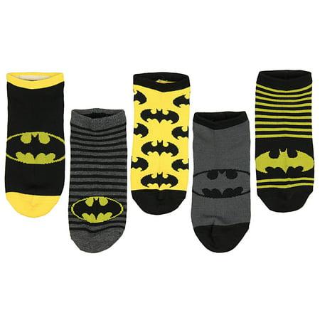 Batman Tights (DC Comics Adult 5 Pack Batman Socks - Ankle)