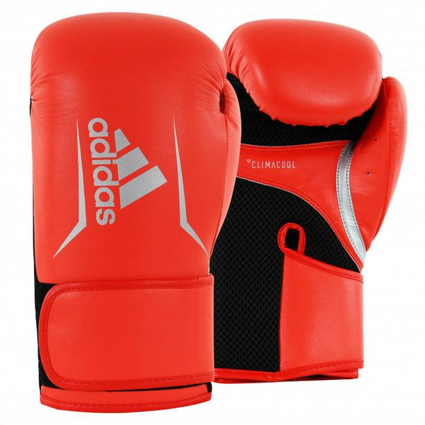 Adidas Speed 100 Boxing, Kickboxing Gloves for Women & Men- 14oz, Orange/Silver