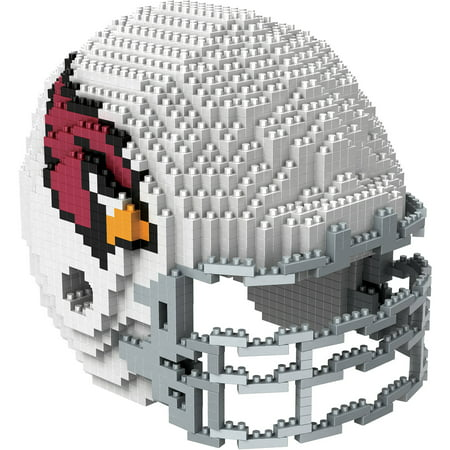 Forever Collectibles 3D BRXLZ Mini Helmet, Arizona Cardinals