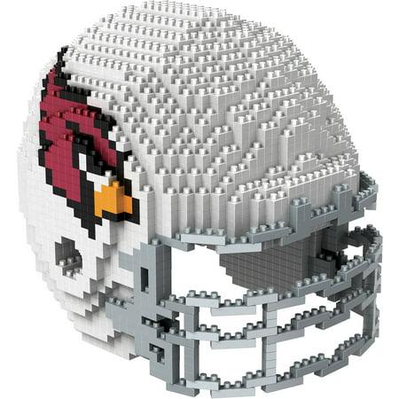 Forever Collectibles 3D BRXLZ Mini Helmet, Arizona (Arizona Cardinals Football Helmet)