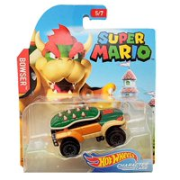 Hot Wheels Mario Brothers Bowser Toy