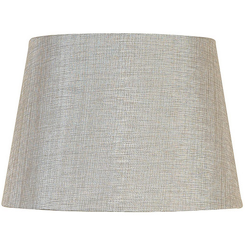 Better Homes And Gardens Medium Textured Lamp Shade, Silver