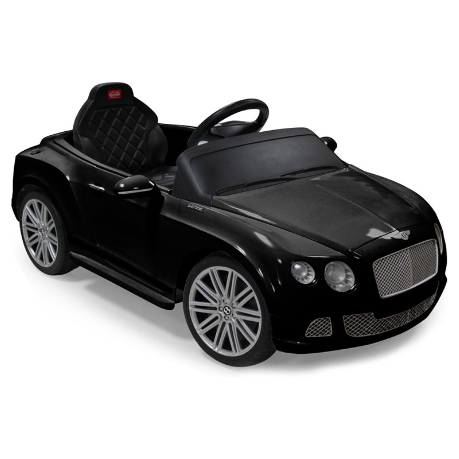 Rastar Bentley GTC Remote-Controlled 12V Battery Powered Ride-On Car, Black