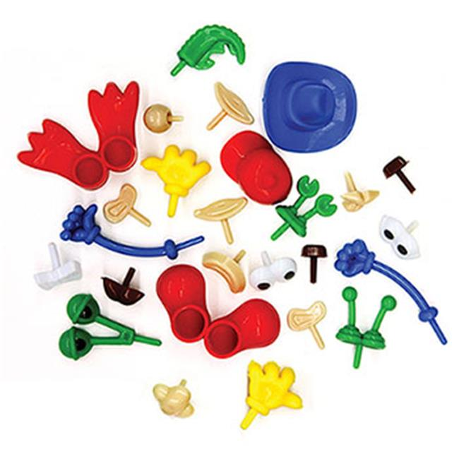 Modeling Dough And Clay Body Parts Accessories