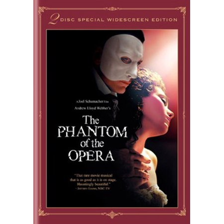 Andrew Lloyd Webber's The Phantom of the Opera (DVD)