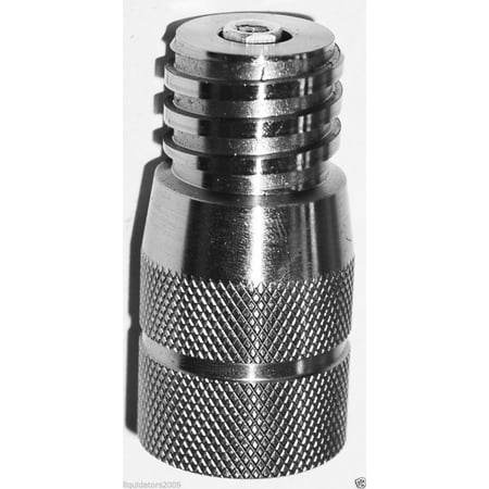 Soda water Co2 Tank Paintball Canister Adapter C02 Conversion stainless steel, seltzer water machine co2 adapter for paintball tank. ? ()