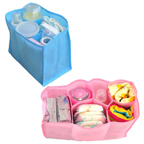 Girl12Queen Outdoor Travel Large Nappy Bag for Storage Baby Diaper Nappies Clothes Bottle