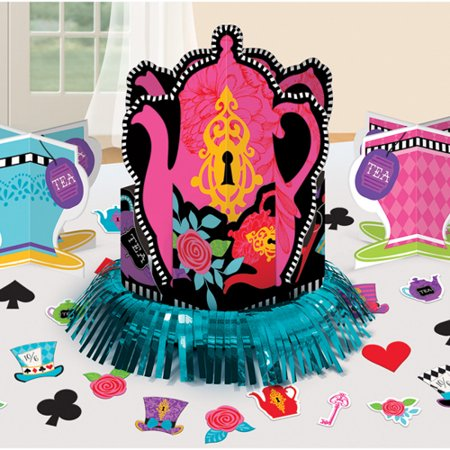 Mad Tea Party Table Decorating Kit - Mad T Party Halloween 2017