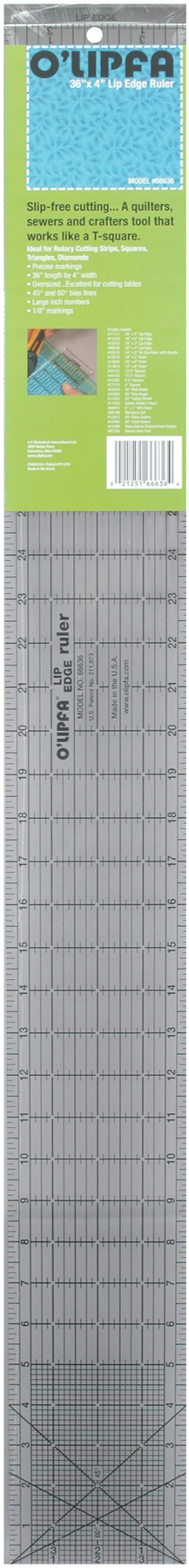 8X8 June Tailor Around The Block Ruler