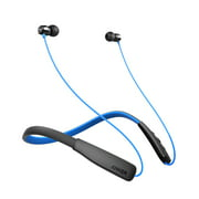 Anker SoundBuds Rise Bluetooth Headphones, Wireless Lightweight Neckband Headset, IPX5 Water Resistant Sport Earbuds with CVC 6.0 Noise Cancelling and Built-in Mic (Black)