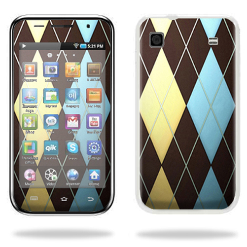 Mightyskins Protective Vinyl Skin Decal Cover for Samsung Galaxy Player 4.0 MP3 Player wrap sticker skins Argyle