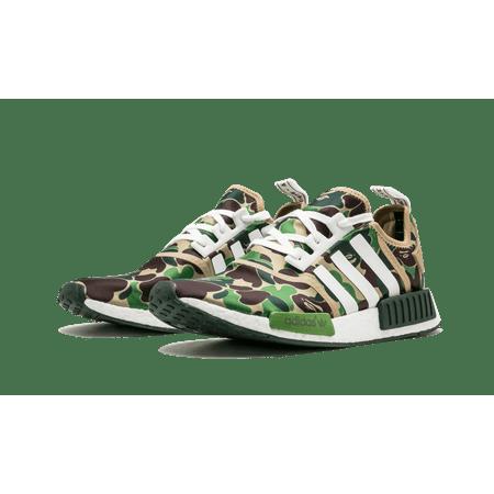 7a07d6964f8d2 UPC 889772717893. Adidas NMD R1 Bape Bathing Ape Green Camo Camouflage  BA7326 US ...