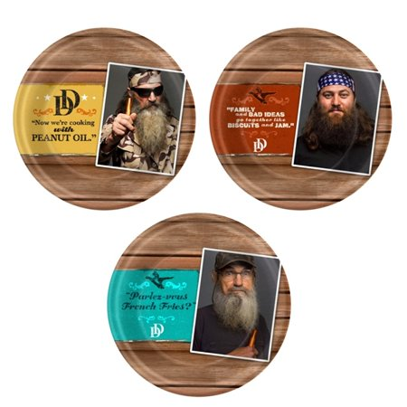 Duck Dynasty Party 9 inch Lunch/Dinner Plates (8 ct)