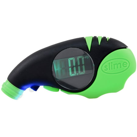 Slime Elite Digital Tire Gauge 5-150 psi - 20475 (Jaco Elitepro Tire Pressure Gauge 100 Psi)
